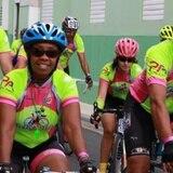Arranca el Ciclo Vida Tour en Cayey por los pacientes de cáncer de seno.
