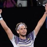 Dominic Thiem retará a Novak Djokovic el domingo en la final del Abierto de Australia