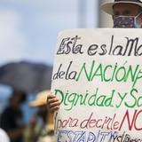 Marchan en contra de la estadidad en San Juan