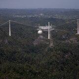 Manejo de Emergencias reportó dos colapsos del Observatorio de Arecibo