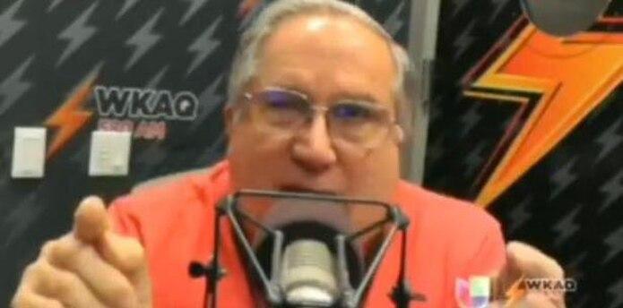 """Durante la emisión del programa """"El azote"""", Dávila Colón dijo: """"Carmen Yulín Cruz es la candidata más corrupta, más perra, más inmoral que hay en Puerto Rico"""". (Captura)"""