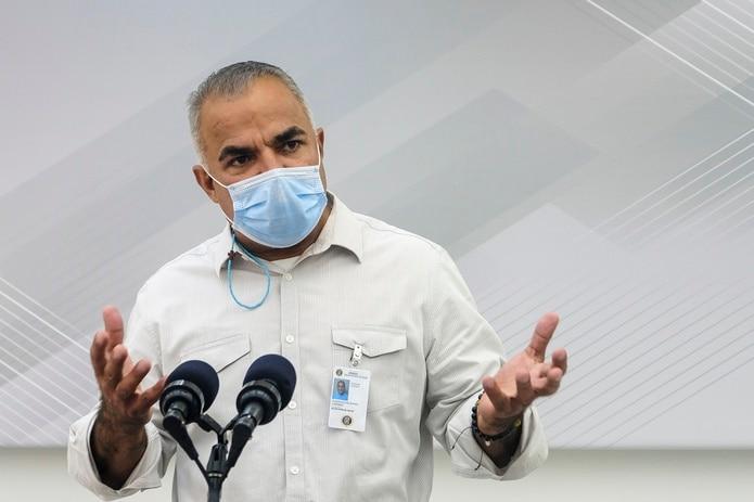 Lorenzo González, secretario del Departamento de Salud.