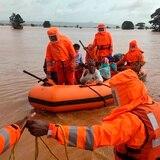Se elevan a 164 las muertes por torrenciales lluvias en India