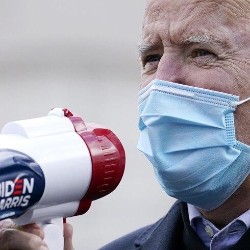 """Joe Biden: """"Estamos ganando"""""""
