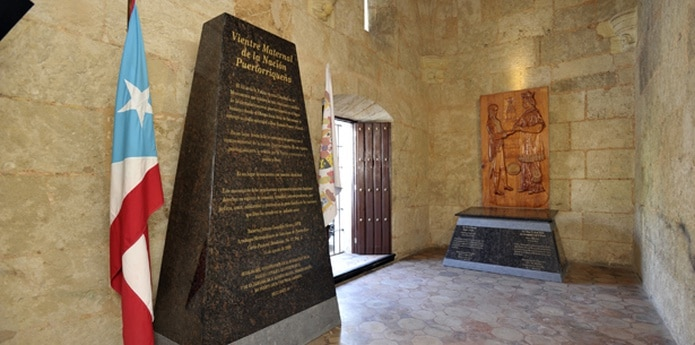 La controversia del Altar de la Patria comenzó desde la inauguración del espacio en la catedral en el 2011. (Archivo)