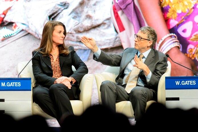 """Bill y Melinda afirmaron que han educado a tres hijos increíbles y que crearon una fundación para promover una vida """"sana y productiva""""."""