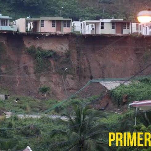 Inminente el peligro en comunidad de Ceiba