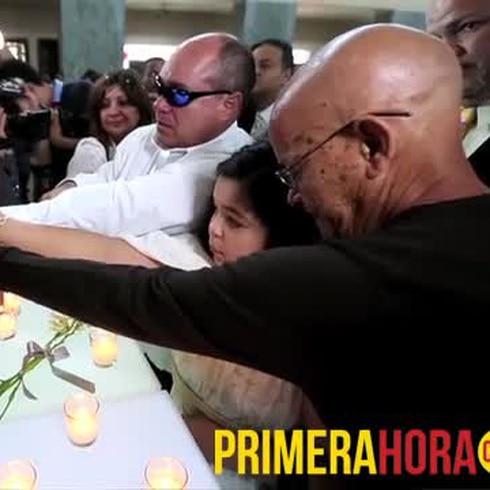 Emotivo adios a Luis Raúl