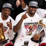 """LeBron James no le tira """"tierra"""" al Heat"""