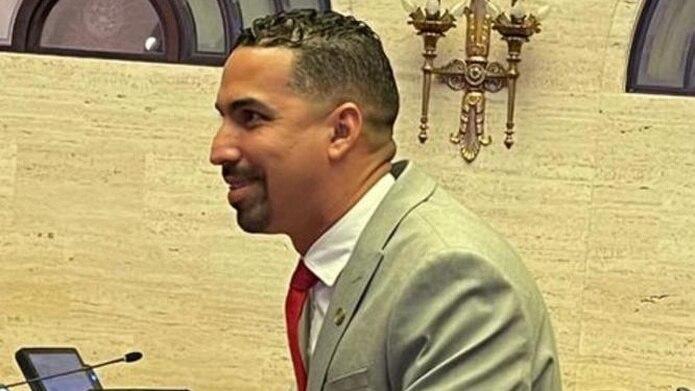 El nuevo senador popular del distrito de Guayama, Albert Torres Berríos.