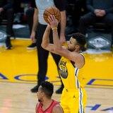 Noche de 62 puntos para Stephen Curry frente a Portland