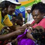 Kenia comienza a vacunar niños contra la malaria
