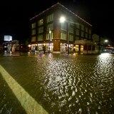 Tormenta tropical Beta toca tierra en la costa de Texas