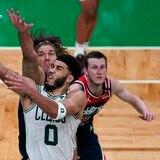 Jayson Tatum estalla con 50 puntos y los Celtics se quedan con el séptimo lugar del Este