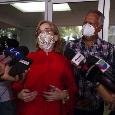 Carmen Yulín Cruz arremete contra el comisionado electoral del PPD