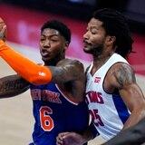 Los Knicks adquieren en cambio a Derrick Rose