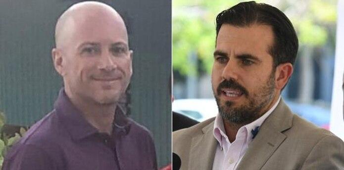 Juan Oscar y Ricardo Rosselló (Twitter / Archivo)