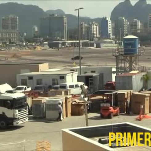 Casi listas las instalaciones en Río 2016
