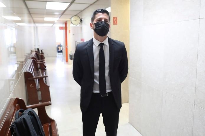 Manuel Natal, en la foto, ha asistido durante los tres días de la vista en el tribunal. El alcalde de San Juan, Miguel Romero, se ha ausentado.