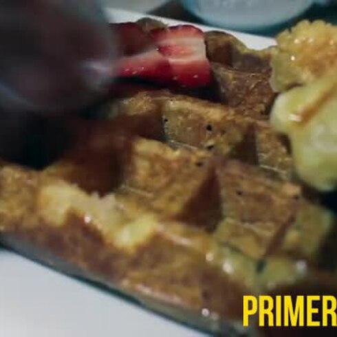 Deja la ingeniería para crear y distribuir waffles