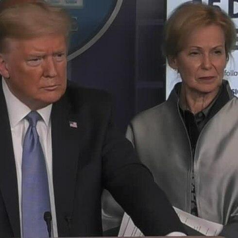 Donald Trump, reconoce que la pandemia de coronavirus no está controlada