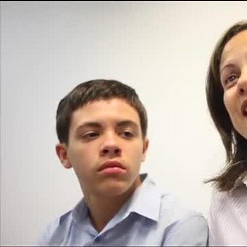 Aviel Bascó Padilla y su mamá luchan contra el autismo