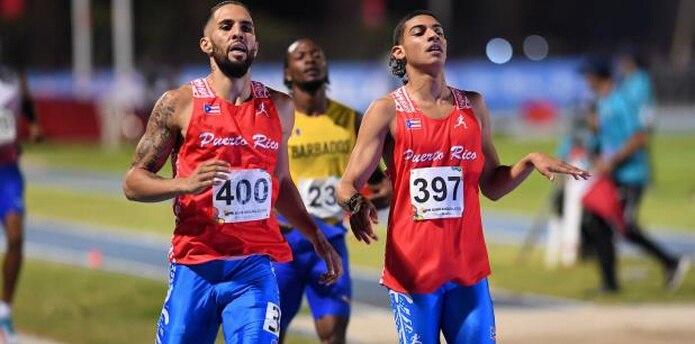 Los velocistas Wesley Vázquez y Ryan Sánchez son dos de los atletas boricuas que ya están clasificados a Tokio. El Copur proyecta una delegación de hasta 50 atletas.  (Archivo)