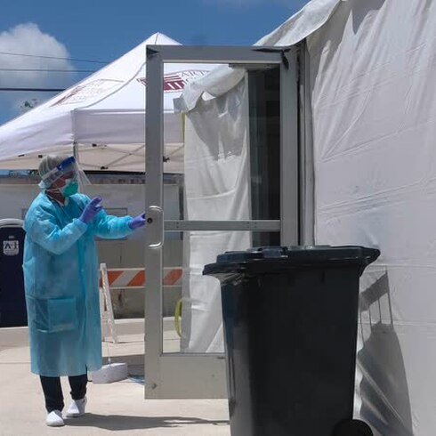 Municipio Humacao realiza de pruebas de COVID 19