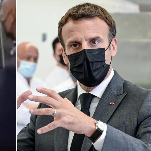 Abofetean a Emmanuel Macron durante un viaje oficial
