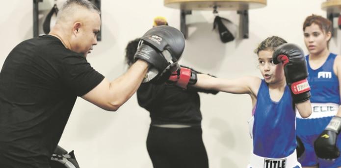 Una de las niñas más emocionada era Sophia Martínez. (andre.kang@gfrmedia.com)