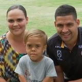 Niño víctima de bullying acompaña a equipo de rugby en emotivo encuentro