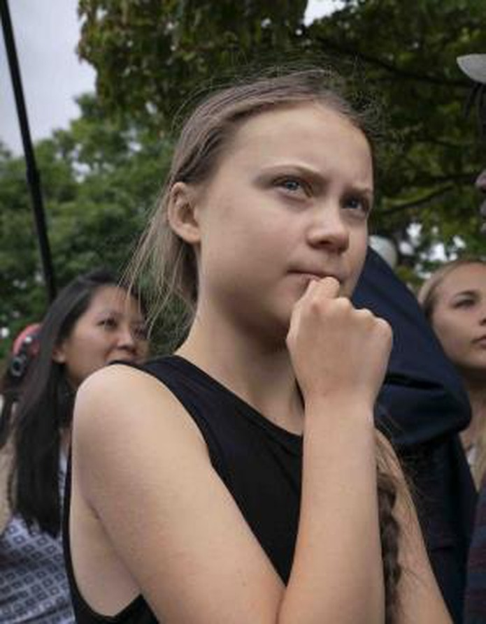 Greta Thunberg (AP)