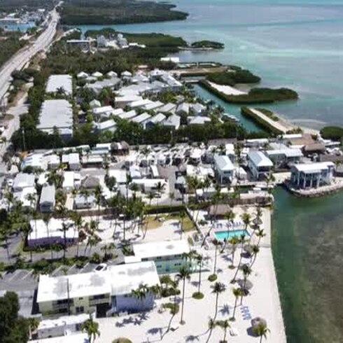 COVID-19: Vuelven a llenarse las playas de Florida