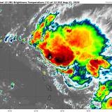 Guardia Costera cierra tráfico marítimo por la tormenta tropical Laura