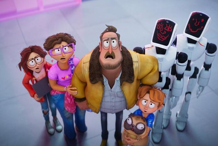 """La cinta animada """"The Mitchells vs. the Machines"""" sigue a una familia disfuncional que se ve obligada a poner sus diferencias a un lado para poder salvar a la humanidad de un apocalipsis de robots."""