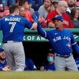 Cinco cañonazos de Toronto ante los Red Sox