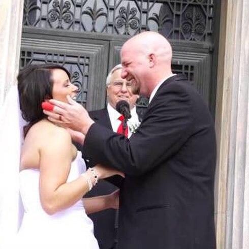 Eh, se supone que eso no pase en una boda... ¿verdad?