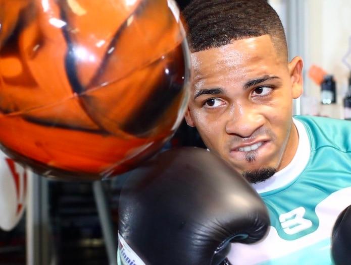 Félix Verdejo lleva ya varias semanas entrenando en Las Vegas.