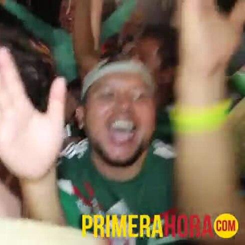 """El """"Fan Fest"""" es el oasis del Mundial de Fútbol"""