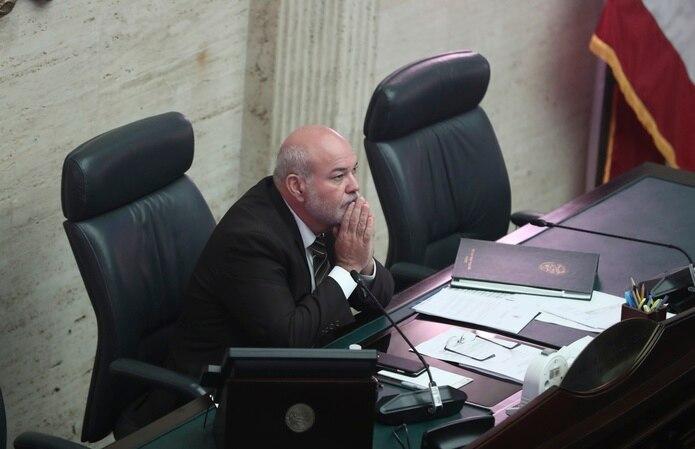 """El saliente presidente de la Cámara de Representantes, Carlos """"Johnny"""" Méndez."""