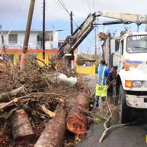 Limpieza de las brigadas del municipio de Guaynabo