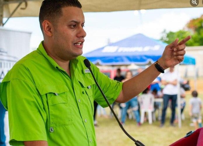 Gabriel Hernández, alcalde de Camuy