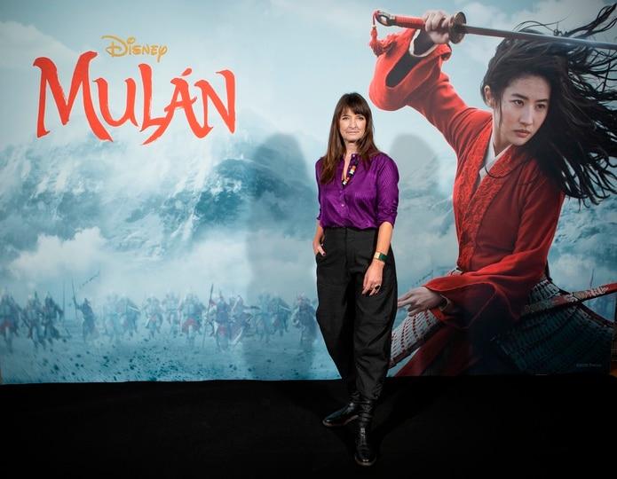 """Bina Daigeler, de origen alemán pero radicada en Madrid desde los años 80, es candidata al Óscar de Mejor Vestuario por la nueva versión de """"Mulan""""."""