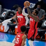 Los Rockets metieron 48 en el primer parcial y aplastaron a Oklahoma City