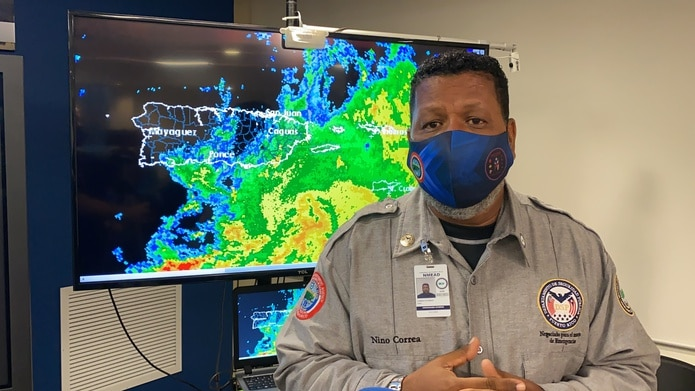 El comisionado de NMEAD, Nino Correa.