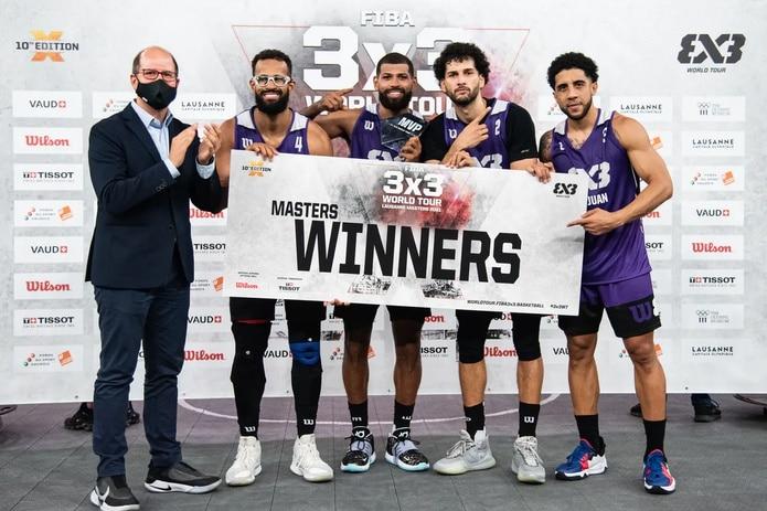 El equipo 3x3 de baloncesto recién consiguió otro logro que pone al Copur a soñar con su presencia en París 2024.