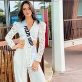 Radiante Estefanía Soto en Miss Universe