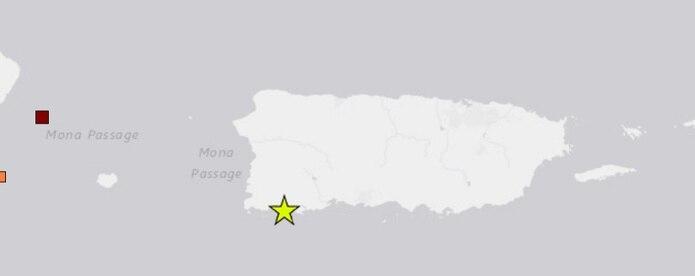 Captura de la Red Sísmica de Puerto Rico.