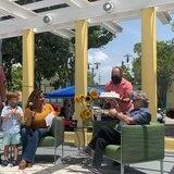 Plaza de Guánica se llenó de alegría y solidaridad