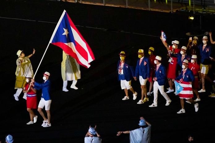 Delegación de Puerto Rico en Tokio 2020.